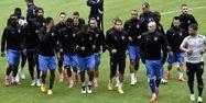 Les joueurs d'Auxerre au Stade de France (1280x640) Franck FIFE/AFP