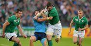 Peter O'Mahony face à l'Italie. (1280x640) Glyn KIRK/AFP