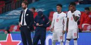 Gareth Southgate Angleterre Italie Euro @Laurence Griffiths / POOL / AFP