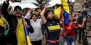 La joie à Zipaquira, ville d'Egan Bernal (1280x640) JUAN BARRETO / AFP
