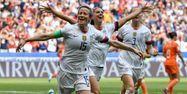 Megan Rapinoe finale coupe du monde féminine Etats-Unis Pays-Bas Philippe DESMAZES / AFP