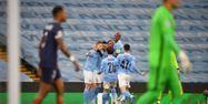 Manchester City PSG demi-finale retour Ligue des champions PAUL ELLIS / AFP