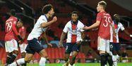 PSG victoire Manchester United Ligue des champions @Oli SCARFF / AFP