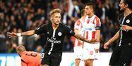 Neymar face à l'Étoile rouge (1280x640) Franck FIFE/AFP
