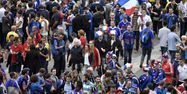 Supporters france stade de France PHILIPPE LOPEZ / AFP 1280