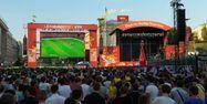 Fan zone kiev euro 2012 AFP