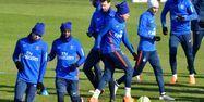 Joueurs du PSG à l'entraînement (1280x640) GÉRARD JULIEN / AFP