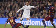 Cristiano Ronaldo face au Barça (1280x640) Josep LAGO/AFP