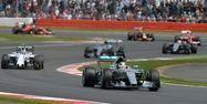 Lewis Hamilton en tête du Grand Prix de Grande-Bretagne (1280x640) Oli SCARFF/AFP