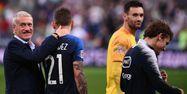 Deschamps France Allemagne FRANCK FIFE / AFP 1280