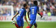 Mbappé et Dembélé face à l'Angleterre (1280x640) Franck FIFE/AFP