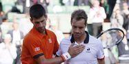 Djokovic et Gasquet, à Roland-Garros (1280x640) Patrick KOVARIK/AFP