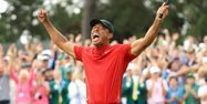 Tiger Woods golf Andrew Redington / GETTY IMAGES NORTH AMERICA / AFP