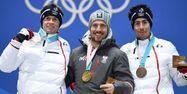 Le podium du combiné aux JO de Pyeongchang (1280x640) Kirill KUDRYAVTSEV / AFP