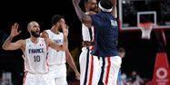 Equipe de France de basket finale @THOMAS COEX / AFP