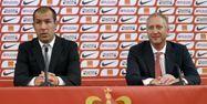 Leonardo Jardim et Vadim Vasilyev, à Monaco (1280x640) Valéry HACHE/AFP