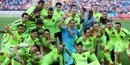 FC Barcelone champion Espagne 1280 AFP