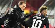 Tuchel avec Neymar à Belgrade (1280x640) FRANCK FIFE / AFP