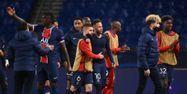 PSG joie qualification Bayern Munich Ligue des champions FRANCK FIFE / AFP