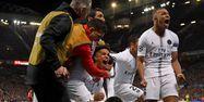 Manchester United PSG Mbappé Ligue des champions FRANCK FIFE / AFP