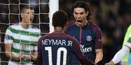 Neymar et Cavani face au Celtic (1280x640) Franck FIFE/AFP