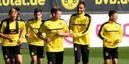 Les joueurs du Borussia Dortmund (1280x640) Patrik STOLLARZ/AFP