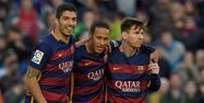 Suarez, Neymar et Messi (1280x640) Lluis GENE/AFP