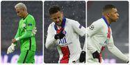 Navas Neymar Mbappé PSG Photos @AFP
