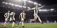 Cristiano Ronaldo Juventus Atlético Marco BERTORELLO / AFP