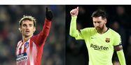 Griezmann et Messi (1280x640) Montage Johnt THYS/AFP