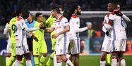 L'OL face au Barça (1280x640) FRANCK FIFE / AFP
