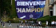 L'équipe de France à Clairefontaine (1280x640) Franck FIFE / AFP