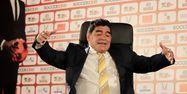 Diego Maradona 1280 KHALIL MAZRAAWI / AFP