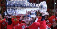 Patrick Kane vainqueur de la Stanley Cup 2015 (1280x640) Tasos KATOPODIS/Getty North America Images/AFP