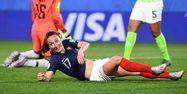Gaëtane Thiney France Nigeria Coupe du monde féminine FRANCK FIFE / AFP