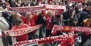 Les supporters de Nîmes (1280x640) Pascal GUYOT/AFP
