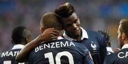 Karim Benzema et Paul Pogba, les deux stars des Bleus (1280x640) Franck FIFE/AFP