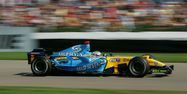 Alonso Renault F1 2006 AFP