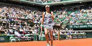 Alizé Cornet Roland Garros CHRISTOPHE ARCHAMBAULT / AFP 1280