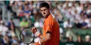 Novak Djokovic a dominé Richard Gasquet dans les grandes largeurs, lundi. (1280x640) Kenzo TRIBOUILLARD/AFP
