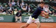 Dominic Thiem à Roland-Garros (1280x640) Thomas SAMSON / AFP