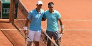 Djokovic et Nadal en finale de Roland 2014 Pascal GUYOT/AFP