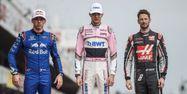 Trois pilotes français en F1 en 2018 (1280x640) JOSE JORDAN / AFP