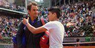 Federer selfie avec ado (1280x640) Capture d'écran Eurosport