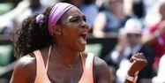 Serena Williams à Roland-Garros 2015 (1280x640) Kenzo TRIBOUILLARD/AFP