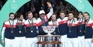 L'équipe de France de Coupe Davis, vainqueur en 2017 (1280x640) Philippe HUGUEN / AFP