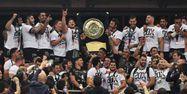 Toulouse Bouclier de Brennus Top 14 Rugby DOMINIQUE FAGET / AFP