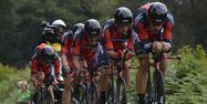 L'équipe BMC sur le Tour de France (1280x640) Lionel BONAVENTURE/AFP