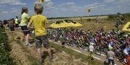 Le Tour de France a débuté le 4 juillet et s'achèvera le dimanche 26 juillet. Jeff PACHOUD/AFP