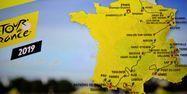 Carte du Tour de France 2019 (1280x640) STEPHANE DE SAKUTIN / AFP